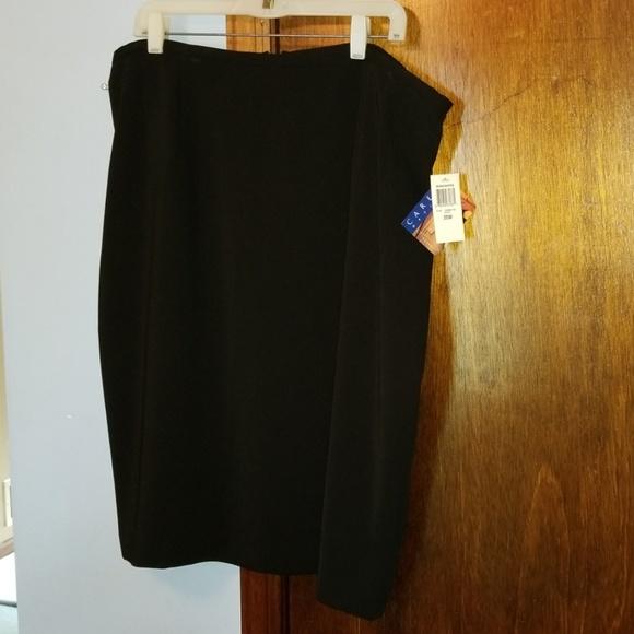 Charter Club Dresses & Skirts - Womens dressy black skirt NWT